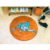 """Jackson State Basketball Rug 29"""" Dia."""