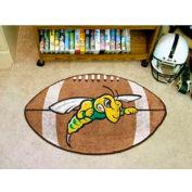 "Black Hills State Football Rug 22"" x 35"""