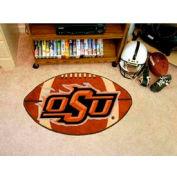 """Oklahoma State Football Rug 22"""" x 35"""""""