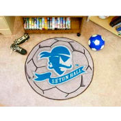 "Seton Hall Soccer Ball Rug 29"" Dia."