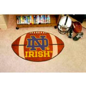 "Notre Dame Football Rug 22"" x 35"""