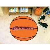 "Eastern Kentucky Basketball Rug 29"" Dia."