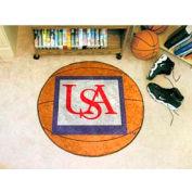 "South Alabama Basketball Rug 29"" Dia."