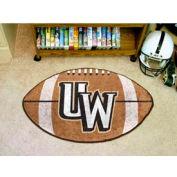 "University of Wyoming Football Rug 22"" x 35"""