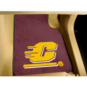 "Central Michigan University - 2 Piece Carpeted Car Mat Set 17""W x 27""L - 5207"