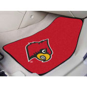 "University of Louisville - 2 Piece Carpeted Car Mat Set 17""W x 27""L - 5452"