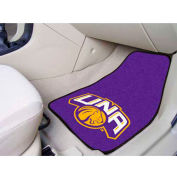 "University of North Alabama - 2 Piece Carpeted Car Mat Set 17""W x 27""L - 5471"