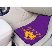 "University of Northern Iowa - 2 Piece Carpeted Car Mat Set 17""W x 27""L - 5472"