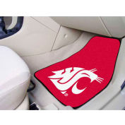 "Washington State University - 2 Piece Carpeted Car Mat Set 17""W x 27""L - 5509"