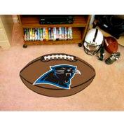 """Carolina Panthers Football Rug 22"""" x 35"""""""