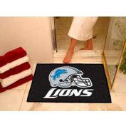 "Detroit Lions All-Star Rug 34"" x 45"""