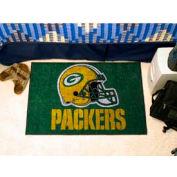 "Green Bay Packers Helmet Starter Rug 20"" x 30"""