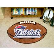 "New England Patriots Football Rug 22"" x 35"""