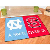 "North Carolina - North Carolina State House Divided Rug 34"" x 45"""