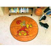"""Valparaiso Basketball Rug 29"""" Dia."""