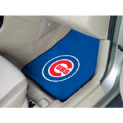 "MLB - Chicago Cubs - 2 Piece Carpeted Car Mat Set 17""W x 27""L - 6466"