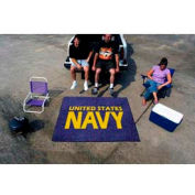 "NAVY Tailgater Rug 60"" x 72"""