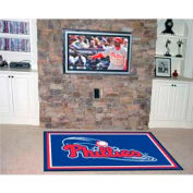 "Philadelphia Phillies Rug 4 x 6 46"" x 72"""
