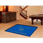 """FanMats US Air Force Team Rug 1/4"""" Thick 4' x 6'"""