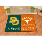 """Baylor - Texas House Divided Rug 34"""" x 45"""""""