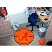 "Alabama Basketball Rug 29"" Dia."