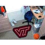 Virginia Tech Mascot Mat Appro x . 3 ft  x  4 ft