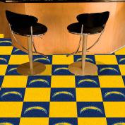 "San Diego Chargers Carpet Tiles 18"" x 18"" Tiles"
