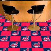 "Cleveland Indians Carpet Tiles 18"" x 18"" Tiles"