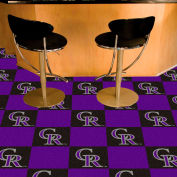 "Colorado Rockies Carpet Tiles 18"" x 18"" Tiles"