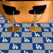"""Los Angeles Dodgers Carpet Tiles 18"""" x 18"""" Tiles"""