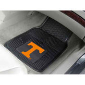 "University of Tennessee - Heavy Duty Vinyl 2 Piece Car Mat Set 17""W x 27""L - 8750"
