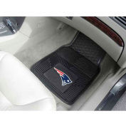 "NFL - New England Patriots - Heavy Duty Vinyl 2 Piece Car Mat Set 17""W x 27""L - 8754"