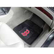 "MLB - Boston Red Sox - Heavy Duty Vinyl 2 Piece Car Mat Set 17""W x 27""L - 8760"