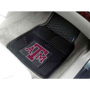 "Texas A&M University - Heavy Duty Vinyl 2 Piece Car Mat Set 17""W x 27""L - 8767"