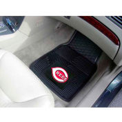 "MLB - Cincinnati Reds - Heavy Duty Vinyl 2 Piece Car Mat Set 17""W x 27""L - 8834"