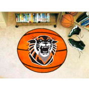 "Fort Hays State Basketball Rug 29"" Dia."