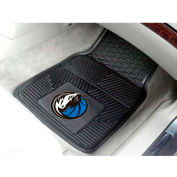 "NBA - Dallas Mavericks - Heavy Duty Vinyl 2 Piece Car Mat Set 17""W x 27""L - 9243"