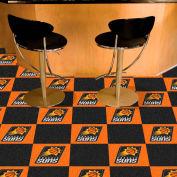 """Phoenix  Suns Carpet Tiles 18"""" x 18"""" Tiles"""