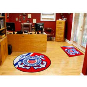 "US Coast Guard 44"" Dia. Round Rug"