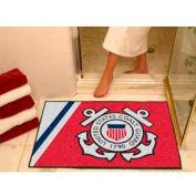 "FanMats US Coast Guard All-Star Team Rug 1/4"" Thick 3' x 4'"