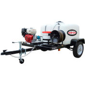 SIMPSON® 95004 Stage 1 Pressure Washer Trailer System-4200 PSI @ 4 GPM w/ V-Twin Electric Start