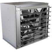 """Fantech 36"""" Standard Duty Wall Mount Cabinet Fan 1WMC36GY, 1-1/2 HP, 115V, 3 PH, 14345 CFM"""