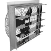 "Fantech 36"" Axial Wall Shutter Fan 2SHE36D1, 1/2 HP, 115V, 1 PH, 8058 CFM, TEFC"