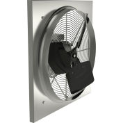 "Fantech 12"" Medium Duty Axial Wall Fan 2VLD1221, 1/30 HP, 115V, 1 PH, 807 CFM, TEFC"