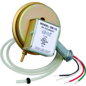 Fantech Pressure Sensing Switch DB10, For Dryer Booster Fans