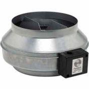 "10"" In-Line Duct Fan With Metal Housing 589 CFM"