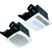 Fantech Quiet Exhaust Fan FQ80, 120V, 1 PH, 80 CFM, 0.3 Sones