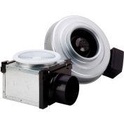 "Fantech Bath Fan kit PB110, 120V, 1 PH, 110 CFM, 4"" Inline Duct Fan, Non-Lighted Grille Box"