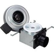 "Fantech Bath Fan PB110L7, 120V, 1 PH, 110 CFM, 7W LED Light, 4"" Duct, Energy Star"
