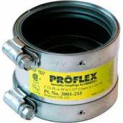 """2"""" Cast Iron/Pvc/Steel X 1-1/2"""" Copper Proflex Coupling - Pkg Qty 24"""